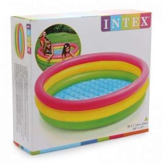 Obrázek 3 produktu Intex 57412 Dětský bazén duhový 114x25cm