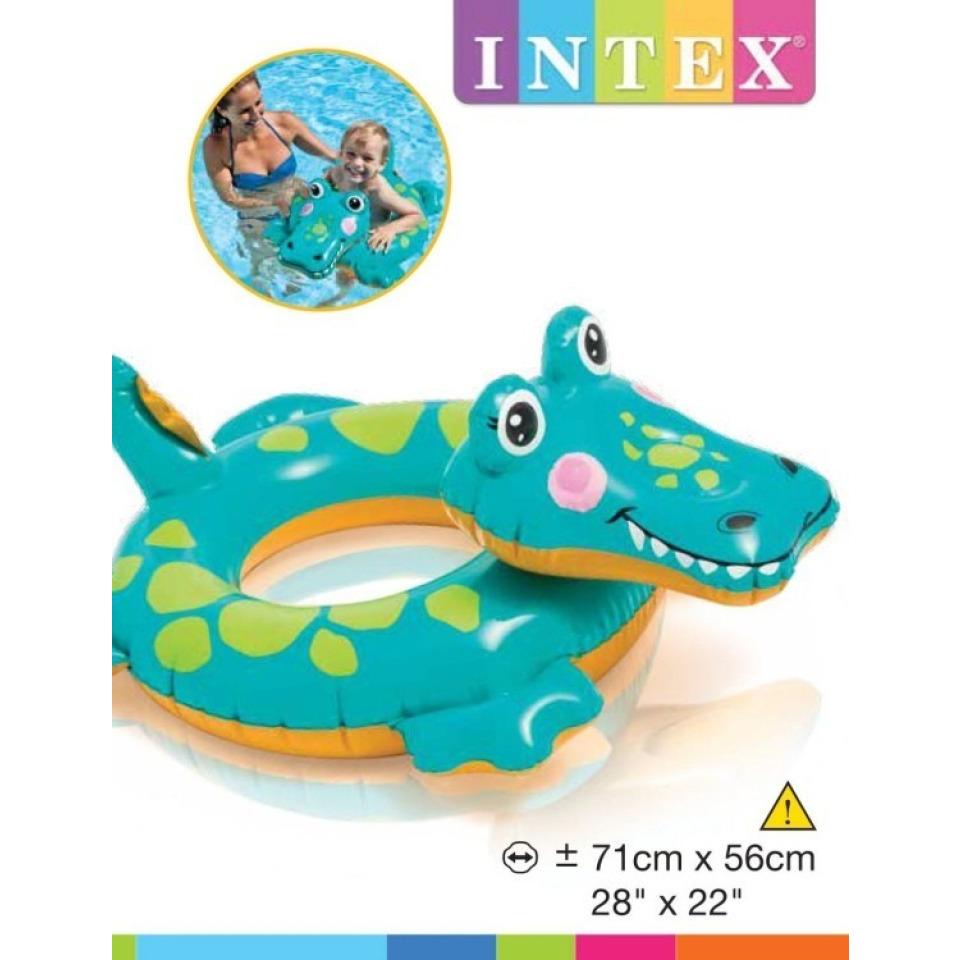 Obrázek 2 produktu Intex 58221 Kruh zvířátko Krokodýl