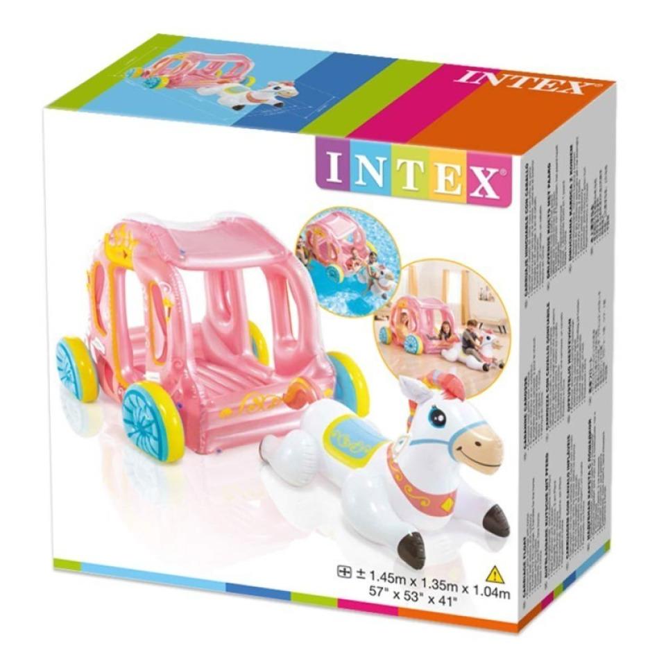 Obrázek 3 produktu Intex 56514 Kočár pro princeznu nafukovací