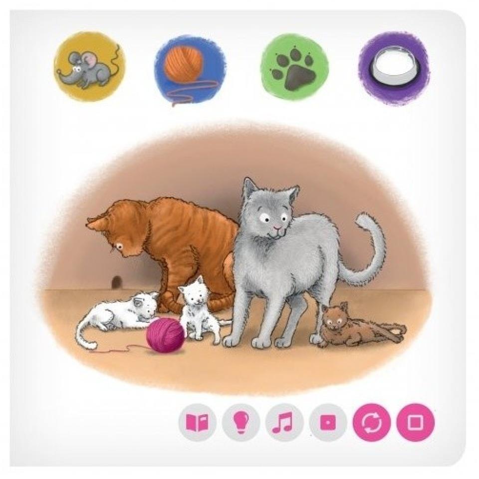 Obrázek 1 produktu Albi Kouzelné čtení Minikniha - Domácí Zvířátka