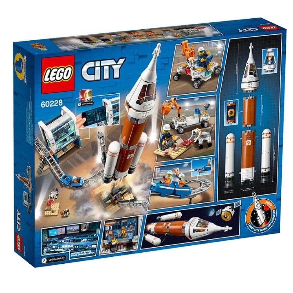 Obrázek 1 produktu LEGO CITY 60228 Start vesmírné rakety