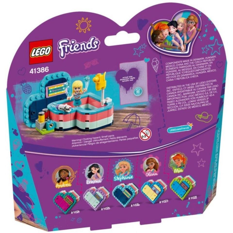 Obrázek 1 produktu LEGO Friends 41386 Stephanie a letní srdcová krabička