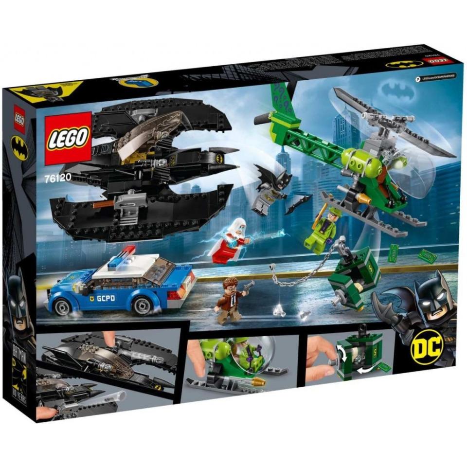 Obrázek 1 produktu LEGO Super Heroes 76120 Batmanovo letadlo a Hádankářova krádež