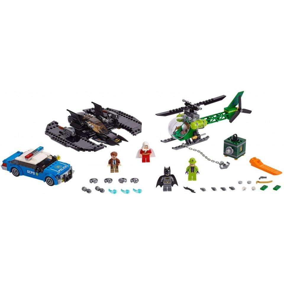 Obrázek 2 produktu LEGO Super Heroes 76120 Batmanovo letadlo a Hádankářova krádež