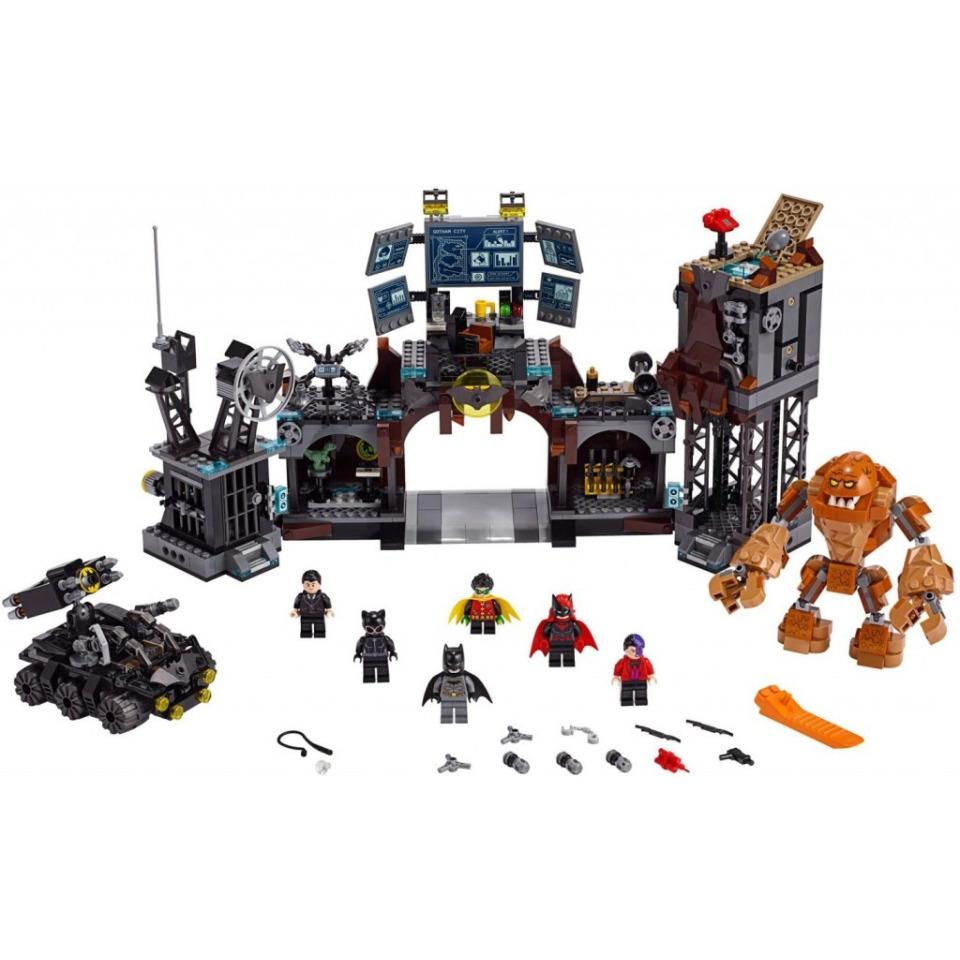 Obrázek 2 produktu LEGO Super Heroes 76122 Clayface™ útočí na Batmanovu jeskyni