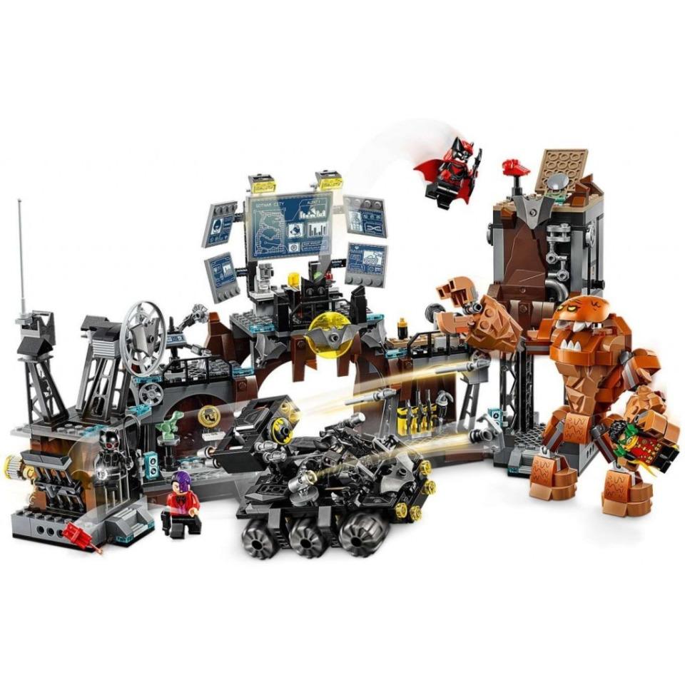 Obrázek 3 produktu LEGO Super Heroes 76122 Clayface™ útočí na Batmanovu jeskyni