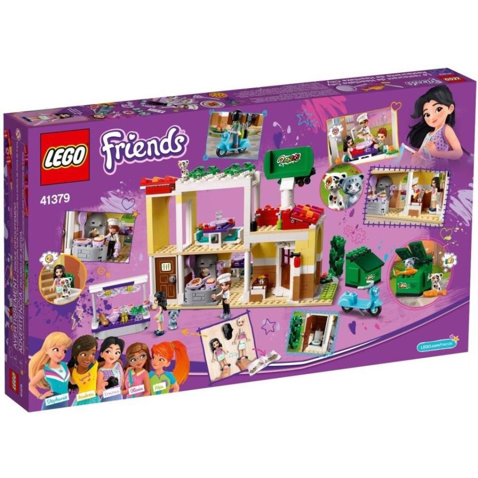 Obrázek 3 produktu LEGO Friends 41379 Restaurace v městečku Heartlake