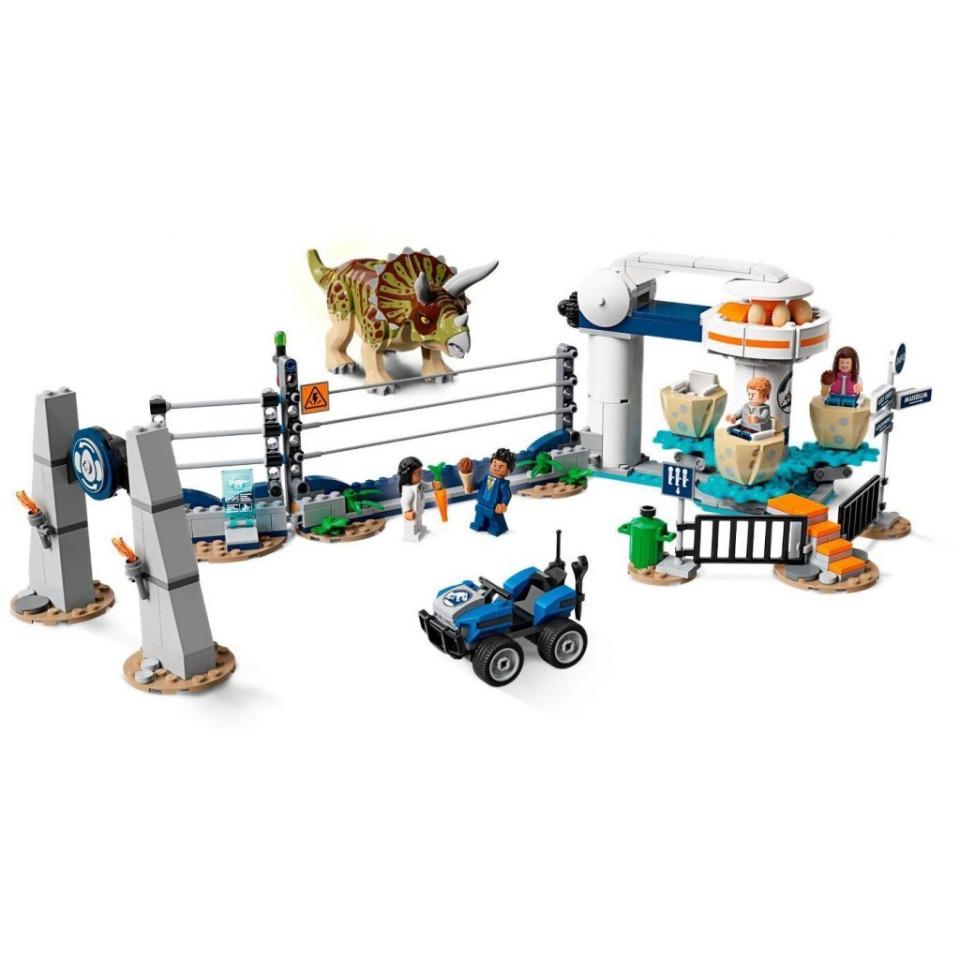 Obrázek 2 produktu LEGO Jurassic World 75937 Triceratopsovo běsnění