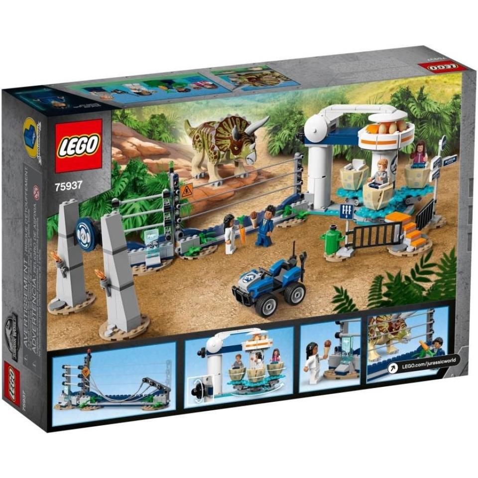Obrázek 3 produktu LEGO Jurassic World 75937 Triceratopsovo běsnění