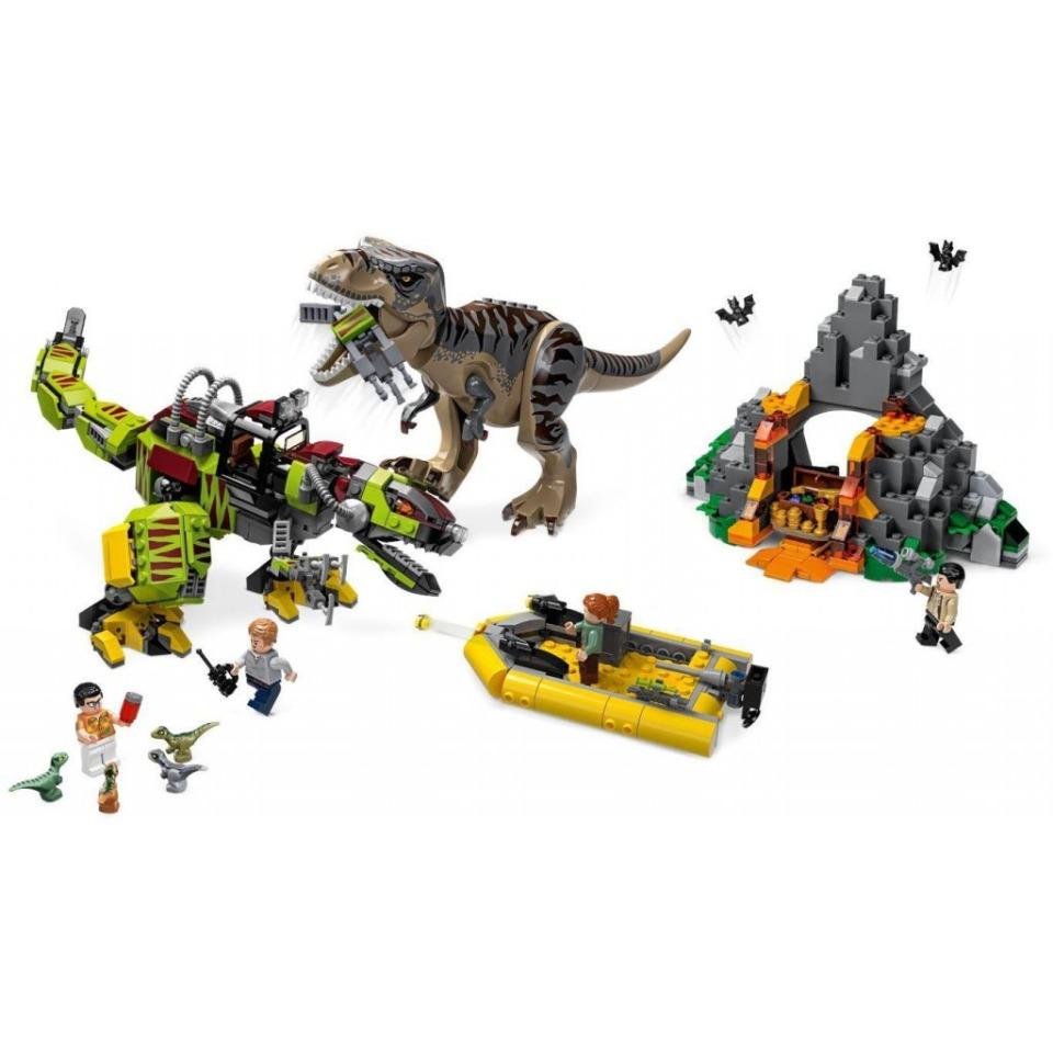 Obrázek 2 produktu LEGO Jurassic World 75938 T. rex vs. Dinorobot