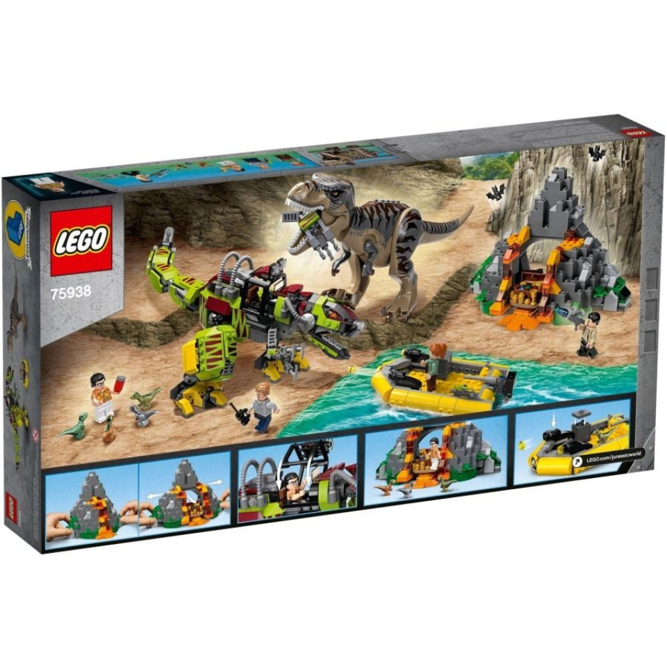 Obrázek 3 produktu LEGO Jurassic World 75938 T. rex vs. Dinorobot