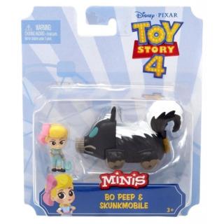 Obrázek 2 produktu TOY STORY 4 Bo Peep a skunkmobil, Mattel GCY62