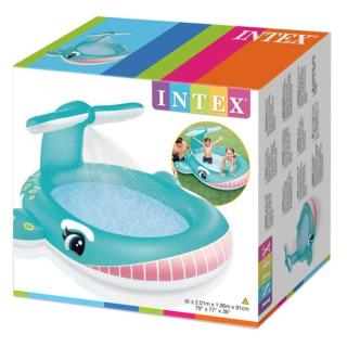 Obrázek 3 produktu Intex 57440 Dětský bazén s rozstřikováním Velryba