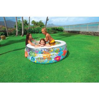 Obrázek 3 produktu Intex 58480 Dětský bazén akvárium 152x56 cm