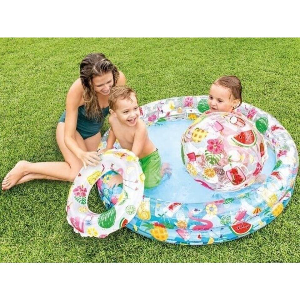 Obrázek 1 produktu Intex 59460 Bazénový set Tropical