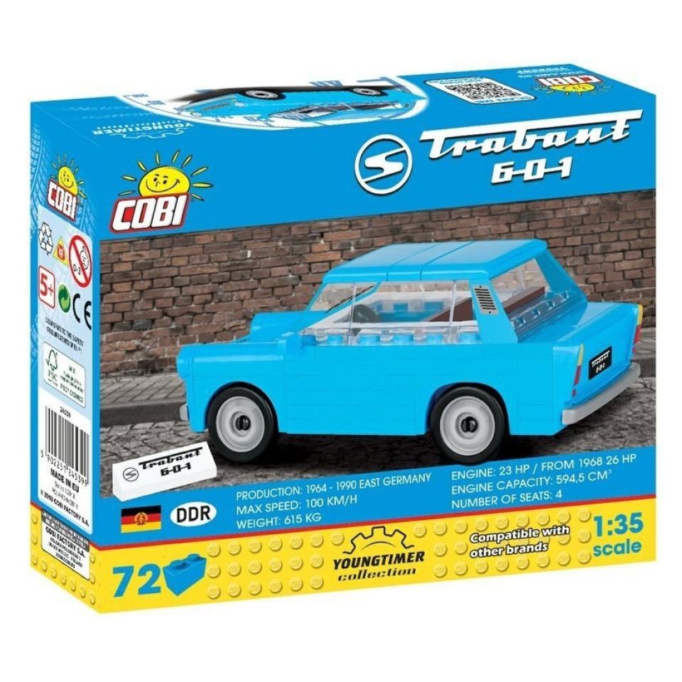 Obrázek 1 produktu Cobi 24539 Youngtimer – TRABANT 601 DDR