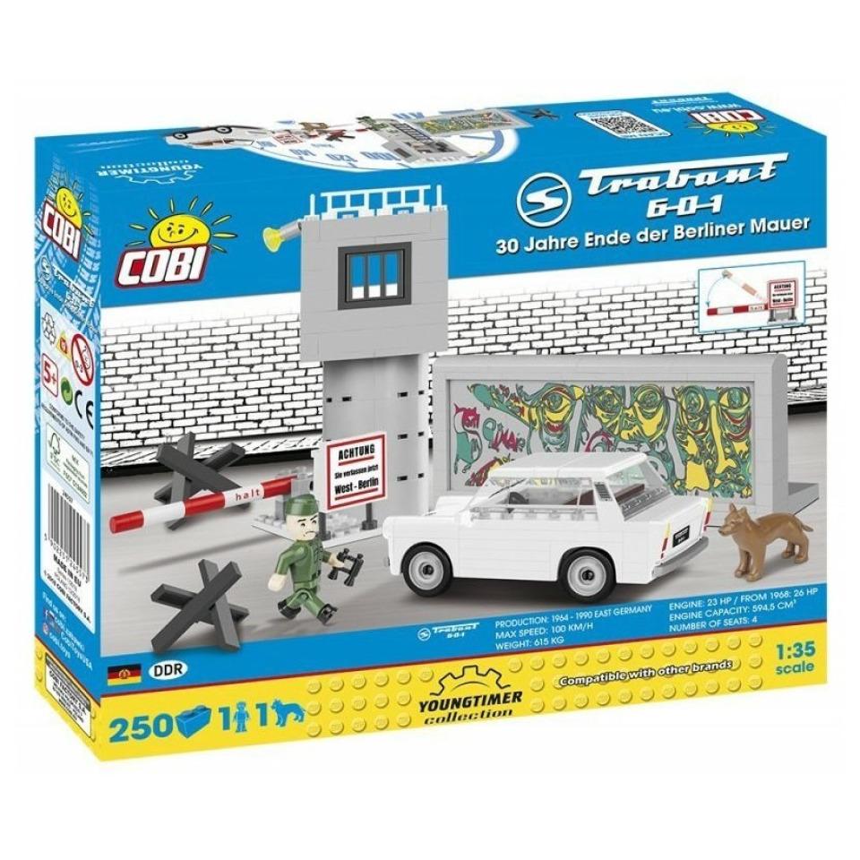 Obrázek 1 produktu Cobi 24557 Youngtimer – TRABANT 601 DDR Berlínská zeď
