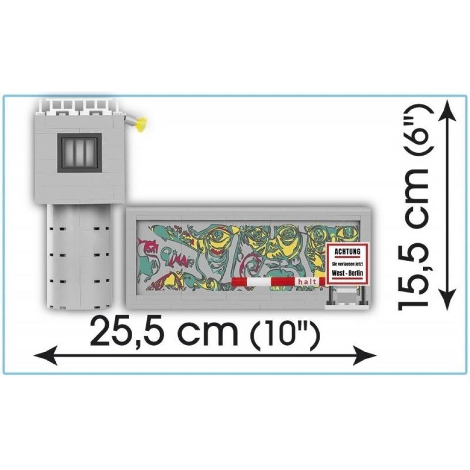 Obrázek 3 produktu Cobi 24557 Youngtimer – TRABANT 601 DDR Berlínská zeď