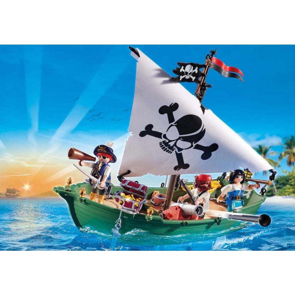 Obrázek 1 produktu Playmobil 70151 Pirátská loď s motorem