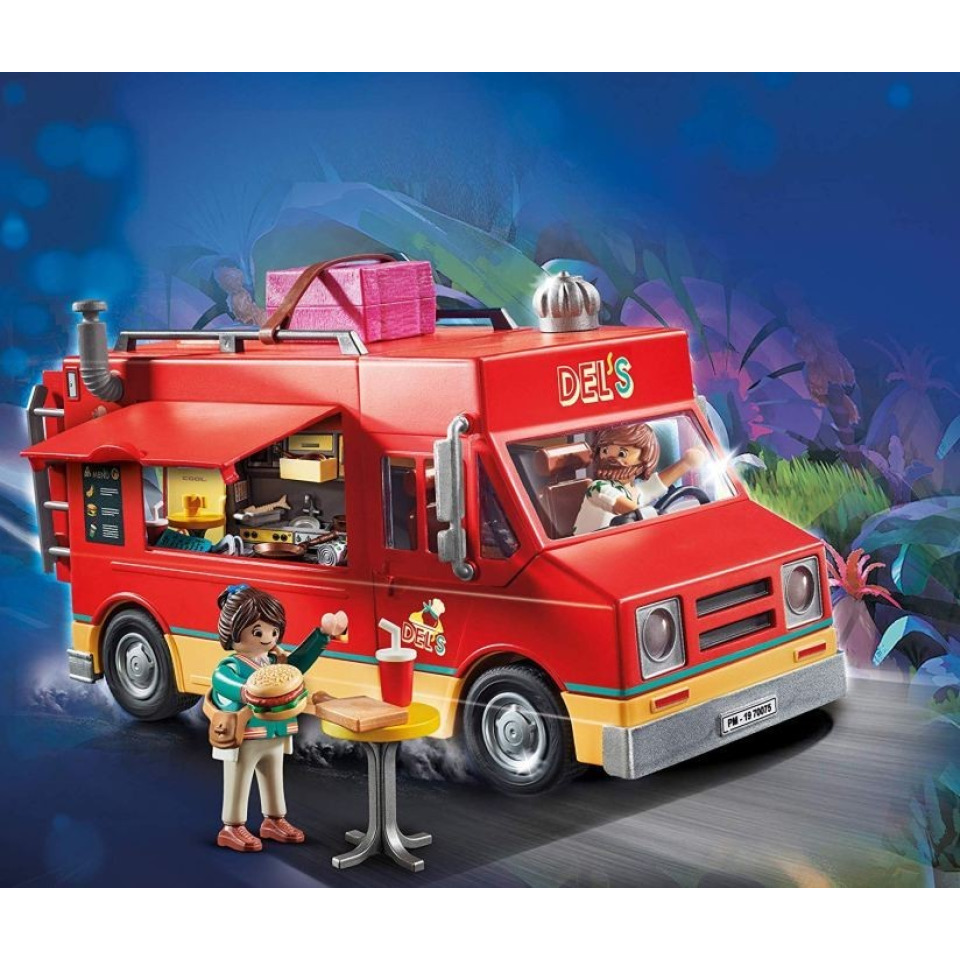Obrázek 1 produktu Playmobil 70075 THE MOVIE Delův Food Truck