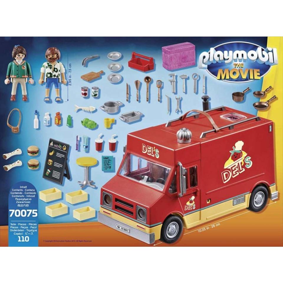 Obrázek 4 produktu Playmobil 70075 THE MOVIE Delův Food Truck