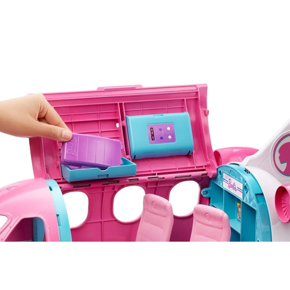 Obrázek 4 produktu Mattel Barbie Letadlo snů, GDG76