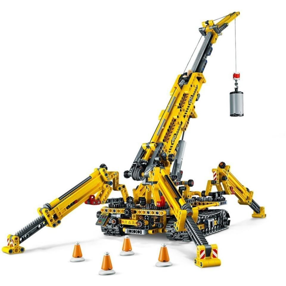 Obrázek 3 produktu LEGO TECHNIC 42097 Kompaktní pásový jeřáb