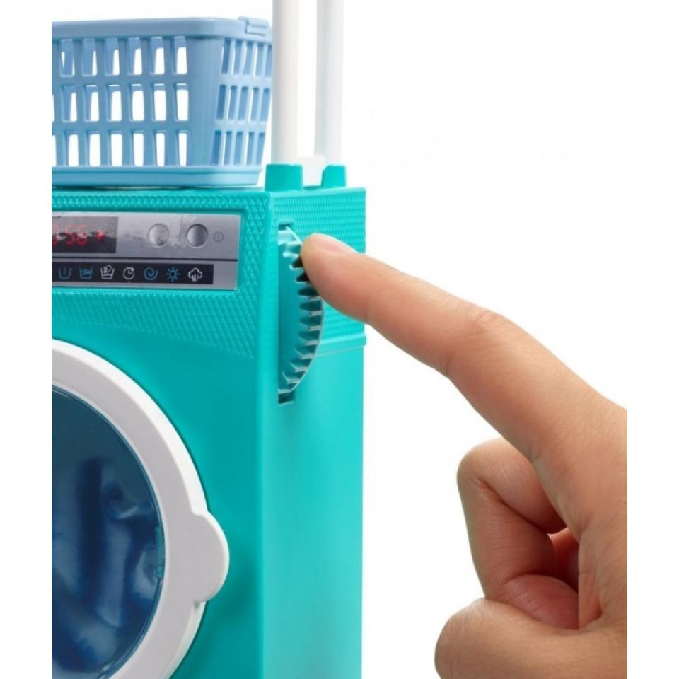 Obrázek 3 produktu Barbie Ken s nábytkem - Automatická pračka, Mattel FYK52