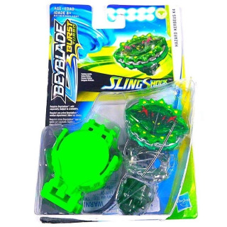 Obrázek 2 produktu BeyBlade Burst Turbo kotouč HAZARD KERBEUS K4 s odpalovačem, Hasbro E4736
