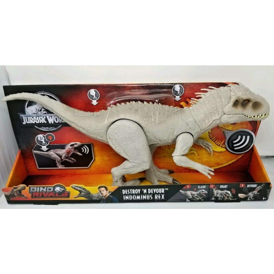 Obrázek 1 produktu Mattel Jurský svět INDOMINUS REX 60cm, světlo, zvuk