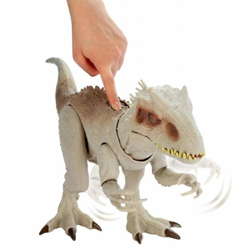 Obrázek 2 produktu Mattel Jurský svět INDOMINUS REX 60cm, světlo, zvuk
