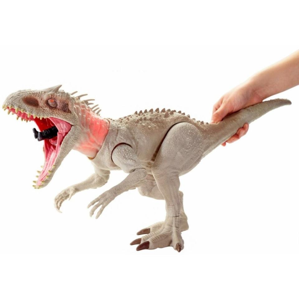 Obrázek 4 produktu Mattel Jurský svět INDOMINUS REX 60cm, světlo, zvuk