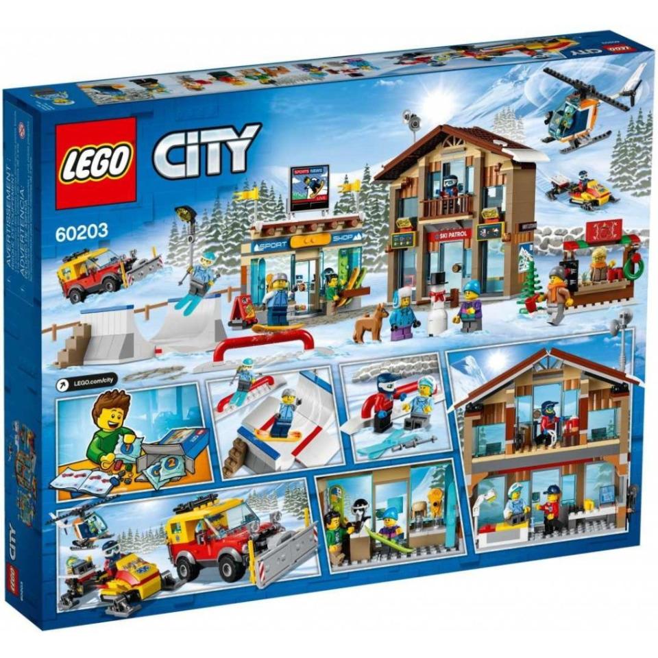 Obrázek 1 produktu LEGO CITY 60203 Lyžařský areál