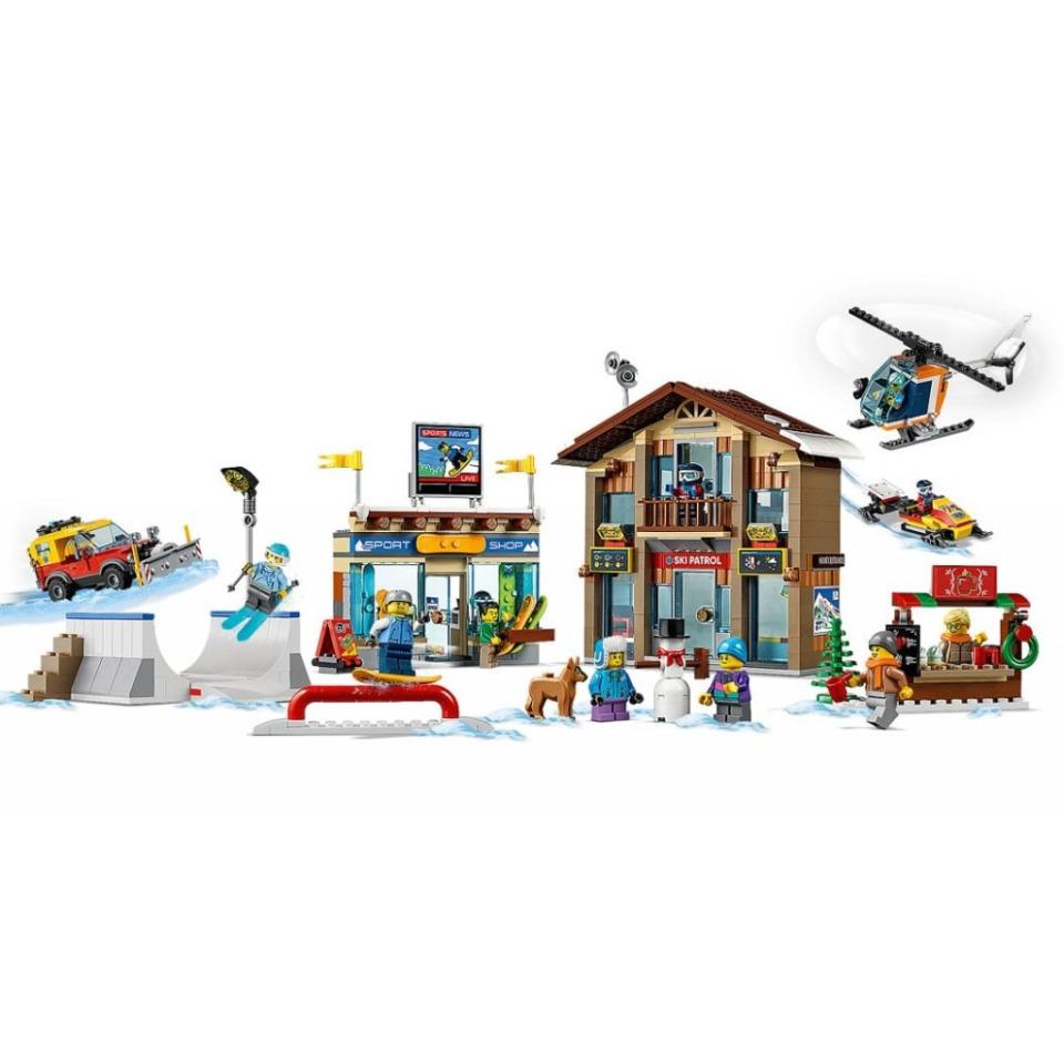 Obrázek 3 produktu LEGO CITY 60203 Lyžařský areál
