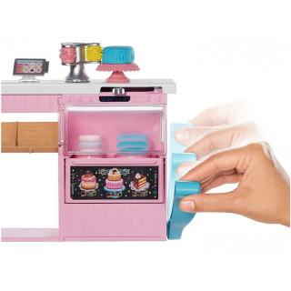 Obrázek 3 produktu Mattel Barbie Cukrářství herní set s panenkou, GFP59
