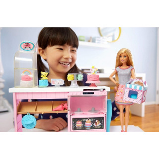 Obrázek 4 produktu Mattel Barbie Cukrářství herní set s panenkou, GFP59