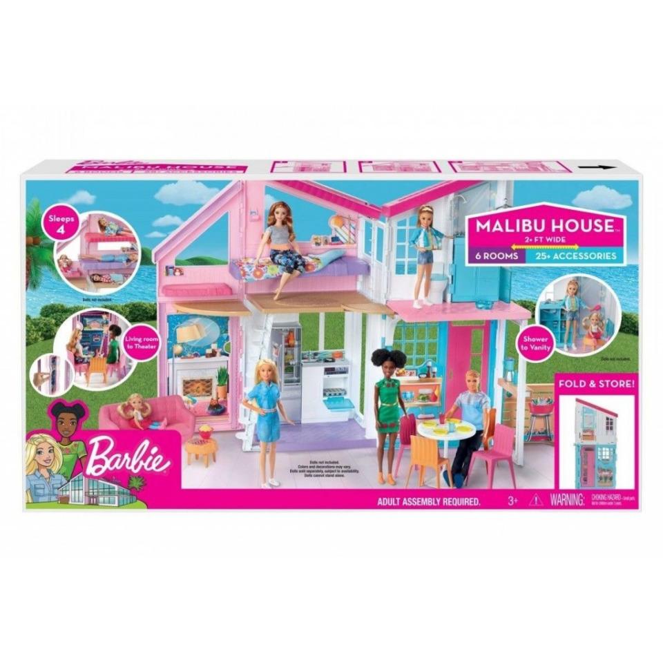 Obrázek 1 produktu Mattel Barbie Dům v Malibu, FXG57