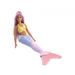 Obrázek 2 produktu Barbie Dreamtopia Mořská víla fialové vlasy, Mattel FXT09