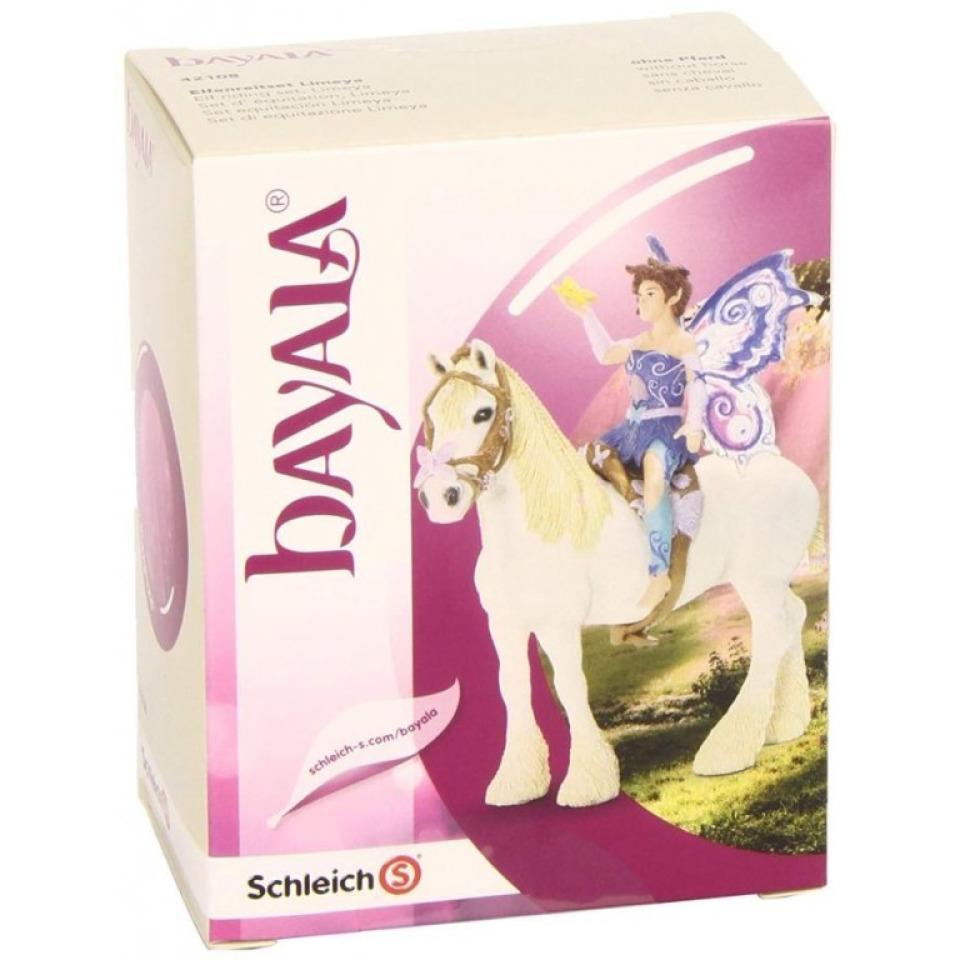Obrázek 1 produktu Schleich 42108 Bayla Postroj na koně + víla Limeya