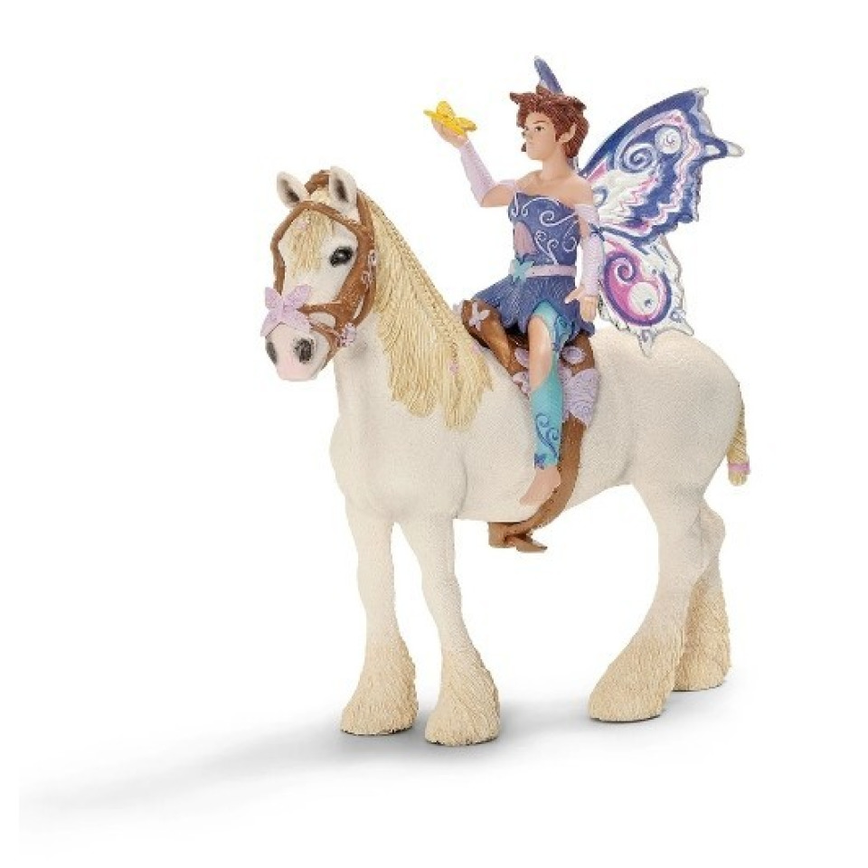 Obrázek 2 produktu Schleich 42108 Bayla Postroj na koně + víla Limeya