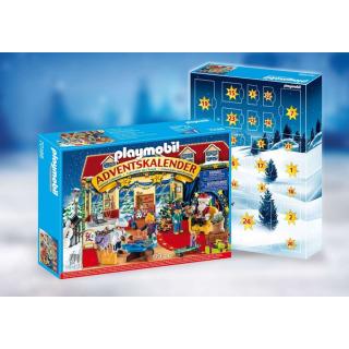 Obrázek 2 produktu Playmobil 70188 Adventní kalendář Vánoce v hračkářství