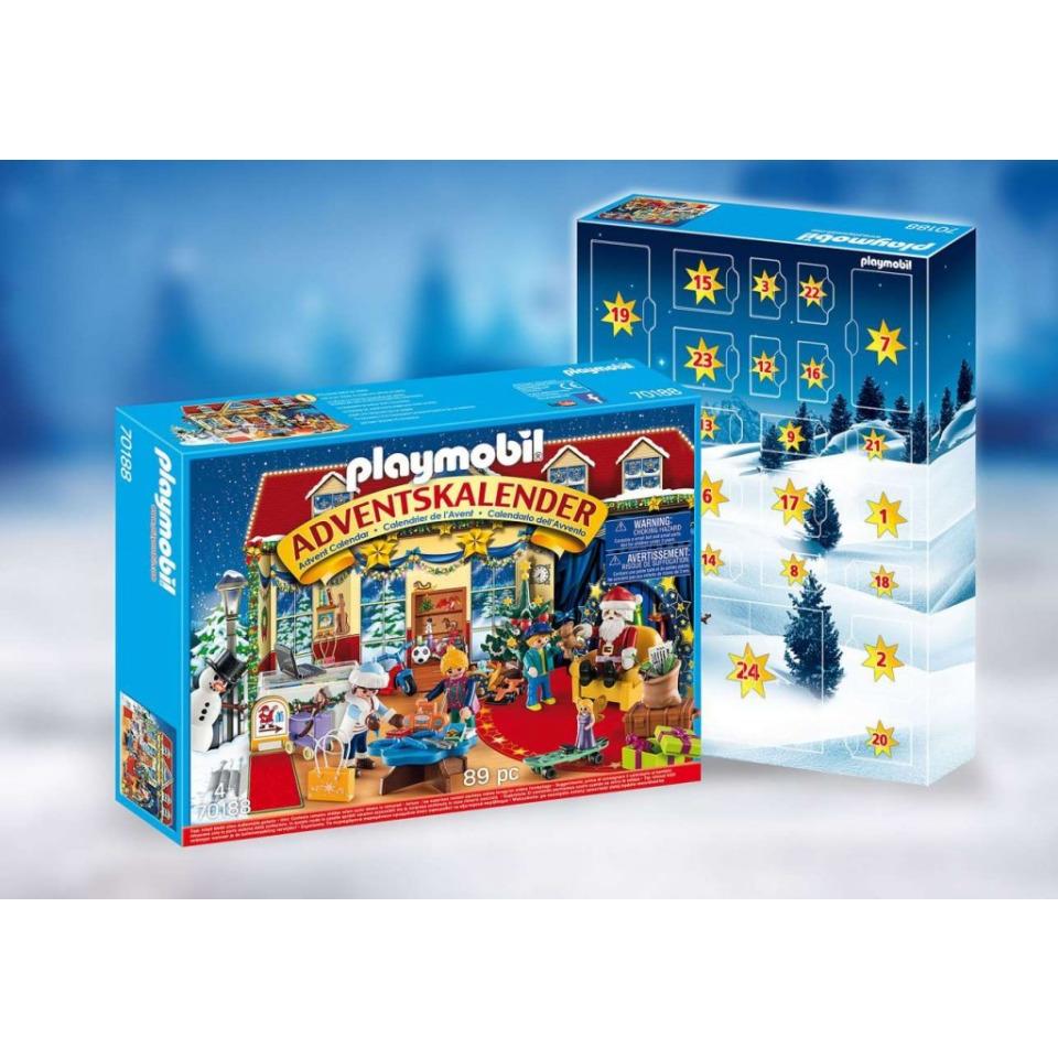 Obrázek 1 produktu Playmobil 70188 Adventní kalendář Vánoce v hračkářství