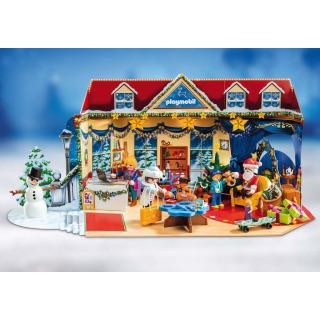 Obrázek 4 produktu Playmobil 70188 Adventní kalendář Vánoce v hračkářství