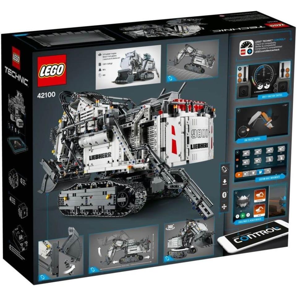 Obrázek 1 produktu LEGO TECHNIC 42100 Bagr Liebherr R 9800