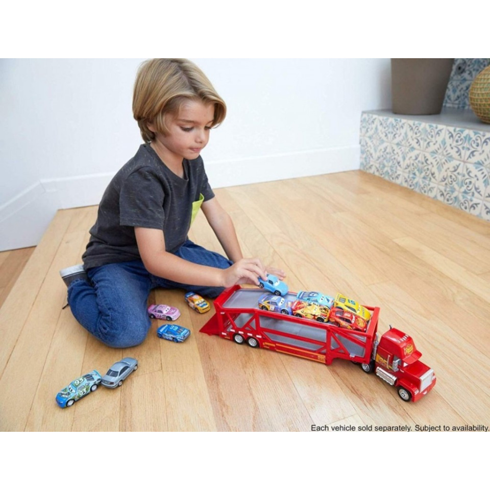 Obrázek 3 produktu Mattel Disney Cars Transportér Mack, FPX96