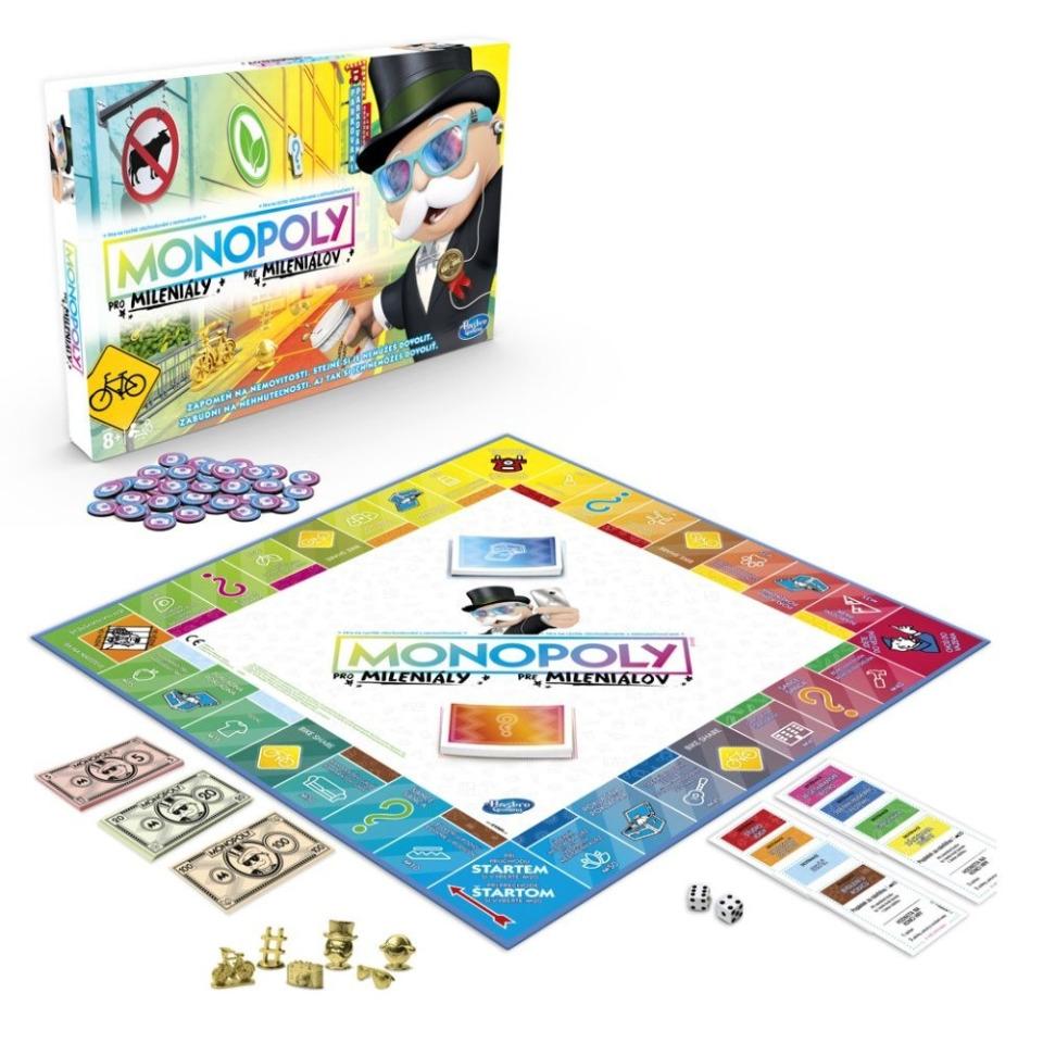 Obrázek 1 produktu Monopoly pro Mileniály, Hasbro E4989