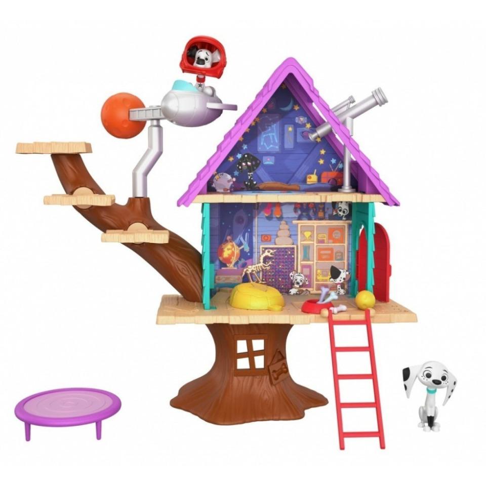 Obrázek 1 produktu 101 Dalmatinů, Dylanův dům na stromě, Mattel GDL88
