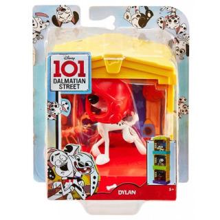 Obrázek 2 produktu 101 Dalmatinů, figurka v domečku Dylan, Mattel GBM27