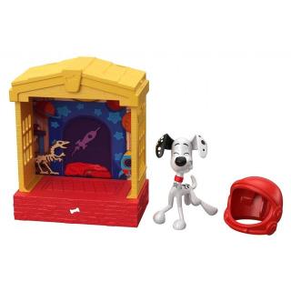 Obrázek 3 produktu 101 Dalmatinů, figurka v domečku Dylan, Mattel GBM27