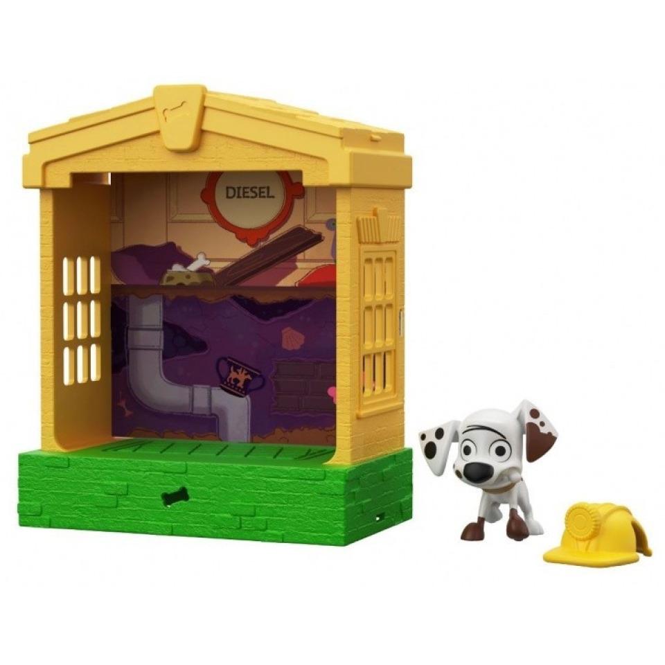 Obrázek 1 produktu 101 Dalmatinů, figurka v domečku Diesel, Mattel GBM31
